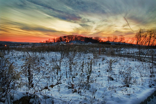 sunset snow canon landscape xti tamron1750mmf28