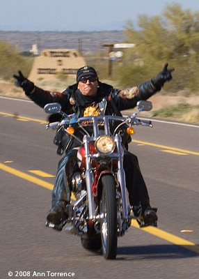 25th Hells Angels Prison Run, Florence Arizona | From the Hi