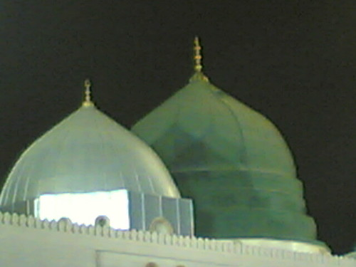 green dome be4 fajr | by sunnivoice