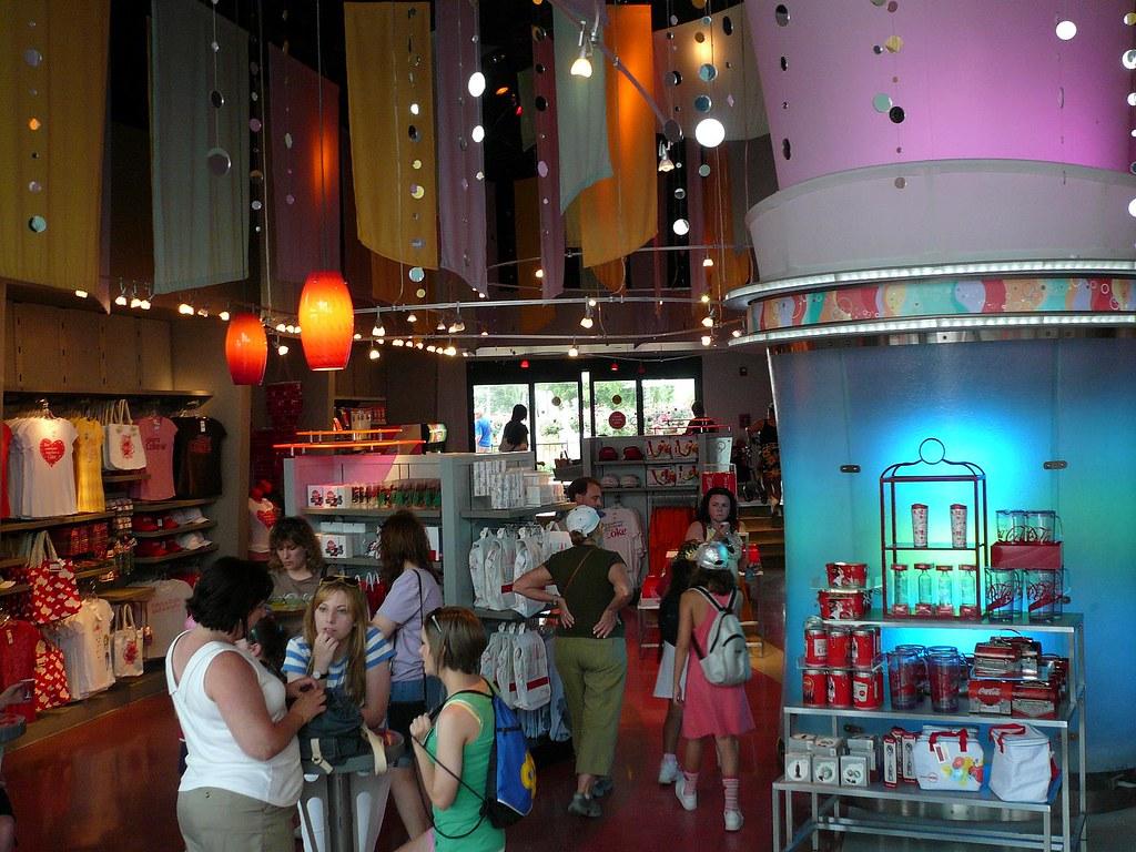 Club Cool Store Coke a Cola Epcot Center | Michael Gray | Flickr