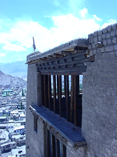 City of Leh from the Palace | by Anar Memon