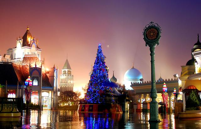 Everland Christmas night image
