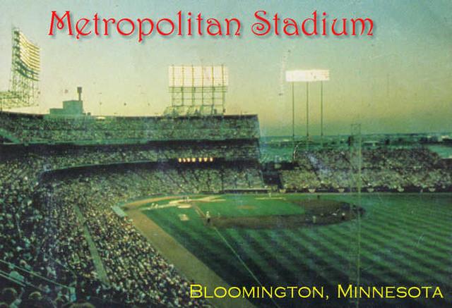 Metropolitan Stadium Minnesota Twins