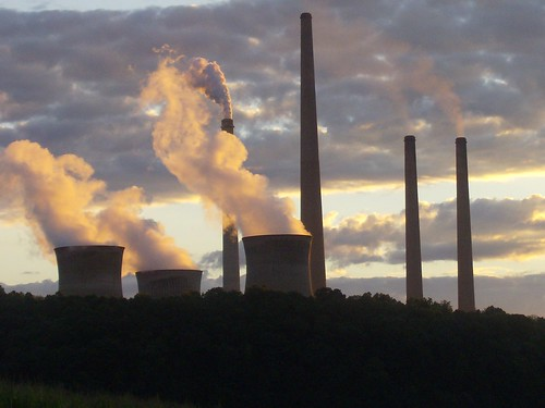 Power Plant at Sunset | by lady_lbrty