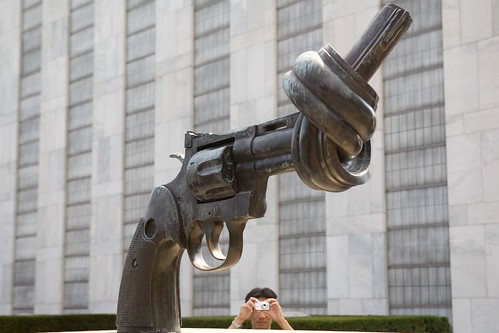 Funny shot at United Nations (UN HQ) | by Luke Redmond