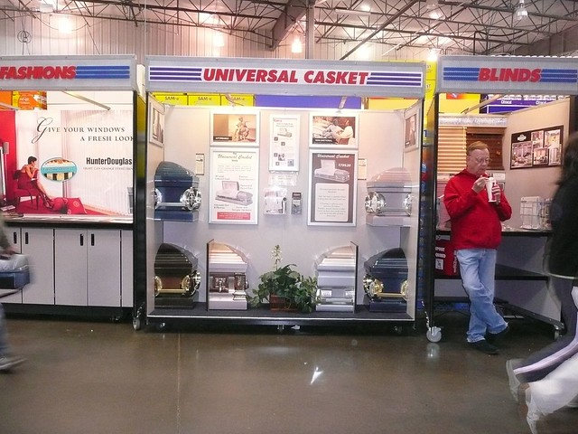 Caskets, on sale at Costco | angela n  | Flickr