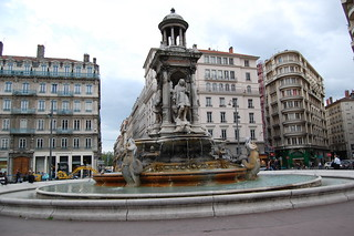 Fountain at Place des Jacobins in Lyon | by edwin.11