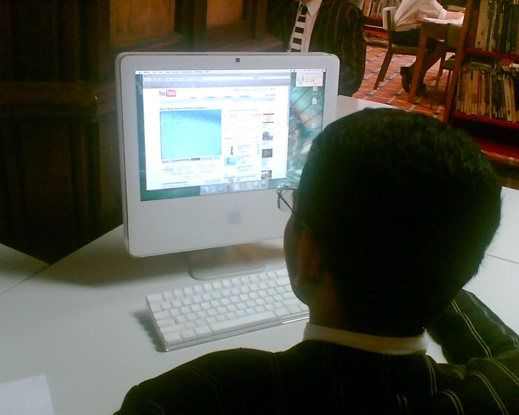 Using YouTube for research in the library