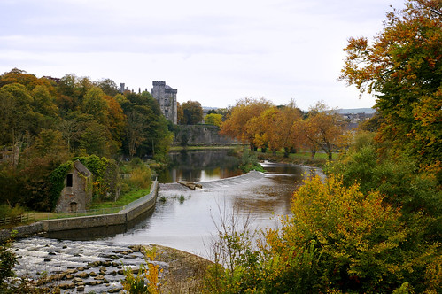 Kilkenny Castle and the River Nore from Wind Gap | by IrishFireside