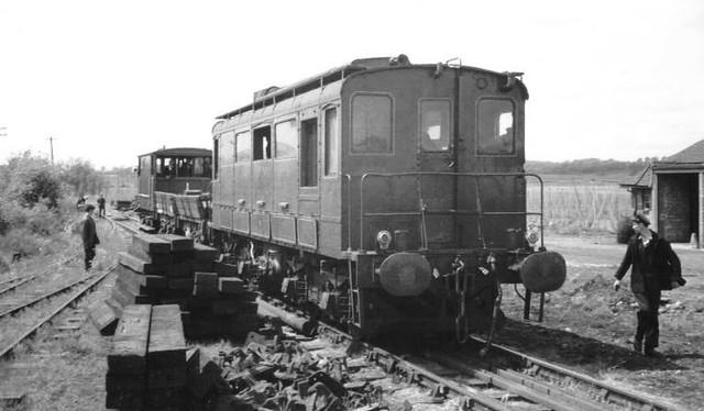 Bodiam K&ESR - ex Ford diesel loco