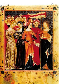 St Ursula and some virgin companions. | by medievalarchive