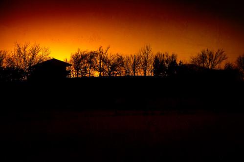 sunset oklahoma photoshop nikon porter d40 acreestudios