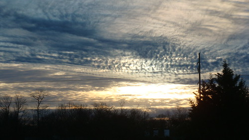morning silhouette club clouds sunrise work landscape widescreen country january layers 2008 169 cirrus altocumulus altostratus shx forsgate shawnhikichi