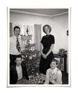 1950's Family Christmas Card (faux vintage) | by Theresa Thompson