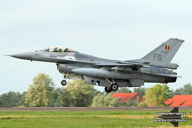 FA-127 Belgian Air Force General Dynamics (SABCA) F-16AM Fighting Falcon