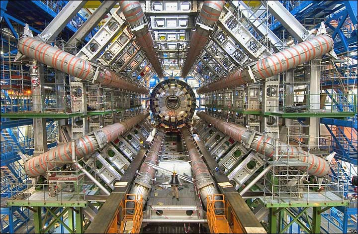 Large Hadron Collider (LHC) ultra-high vacuum tubes