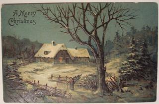 Vintage Christmas Postcard | by riptheskull