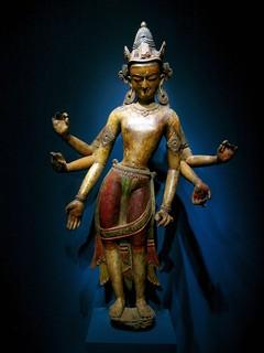 nepal - white avalokiteshvara