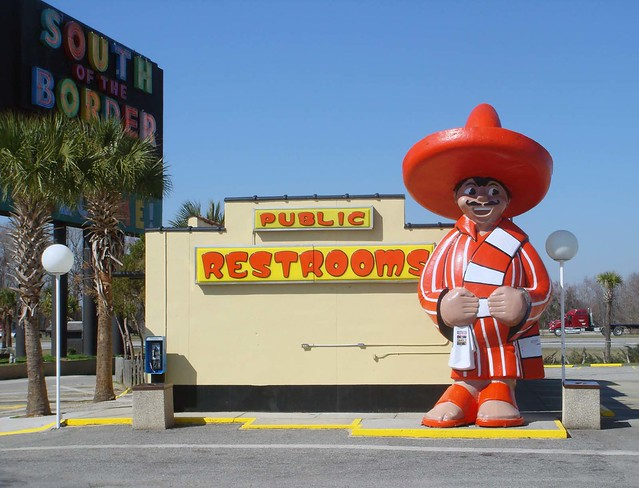 Pedro's Restroom @ South of the Border