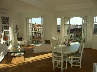 Apartment for sale Nice | The living room of a beautiful ...
