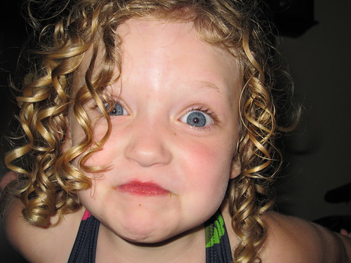 Post Swim Swirly Curls. | by mooshinindy