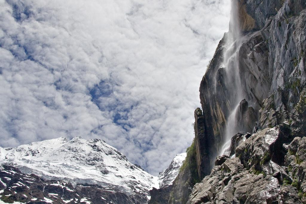 Sacred Waterfall of the inner kora of Kawakarpo, or The Three States