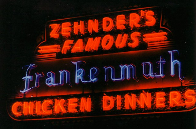 MI, Frankenmuth-MI 83 Zehnder's Chicken Dinners Neon Sign