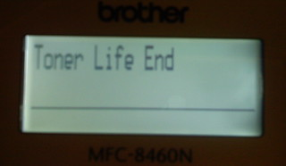 Toner Life End | by metheuspro