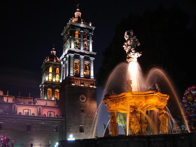 Catedral de Puebla, no México