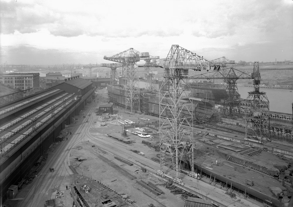 General view of the Walker Naval Yard