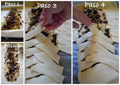 2 trenza de hojaldre Paso a paso | by Cocina de la Srta. Mol
