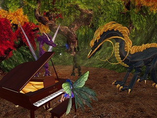 Music for Dragons in Strayllight
