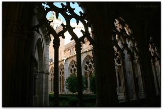 Claustre gòtic, Monestir de Santes Creus (l'Alt Camp)