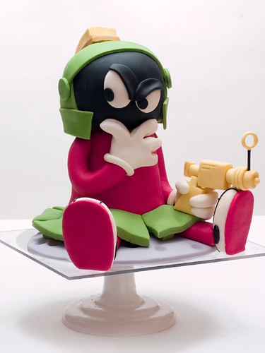 Marvin The Martian Cake | by studiocake