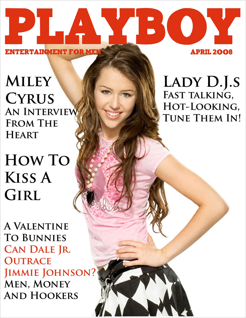 Miley Cyrus Playboy Cover | Just for fun guys so dont