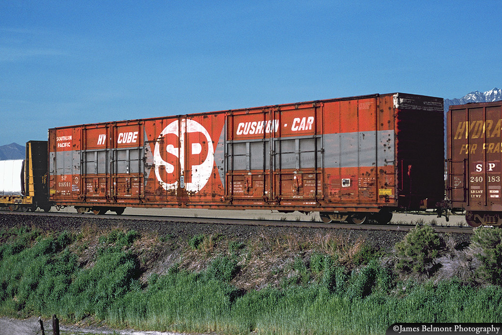 Southern Auto Parts >> Southern Pacific 86 Ft Auto Parts Box Car Southern Pacifi
