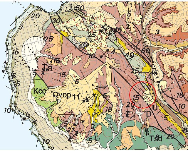 Geologic Map Of Georgia.Usgs Geologic Map Of Mount Soledad La Jolla Salmon Pink Is Flickr