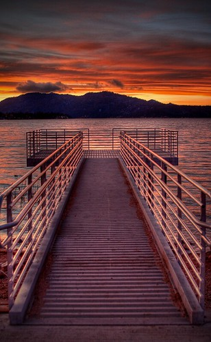california park christmas sunset sun lake snow reflection sunrise landscape pier sunsets hdr canonef2470mmf28l anawesomeshot ♥avision♥
