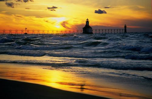 St. Joseph Pierhead Lighthouse   by ipecwb