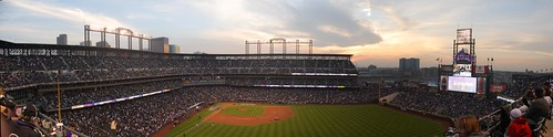 Coors Field - Right Center Field Pano | by Eric Kilby