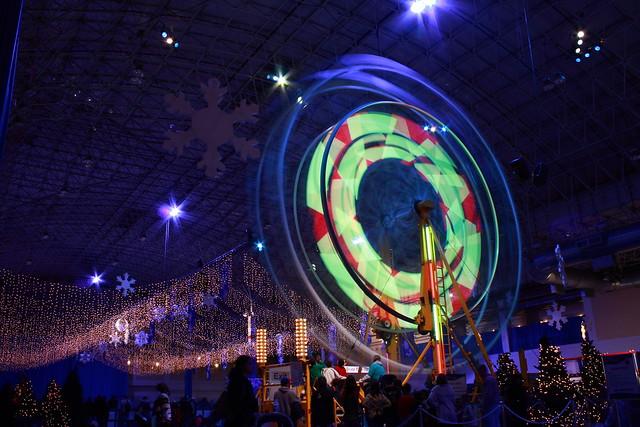 Chicago Winter Wonderfest ferris wheel