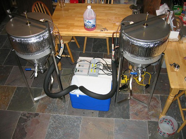 Glycol Chiller Conicals Flickr