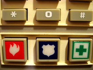25-365  1/25/08 - Alarm Keypad