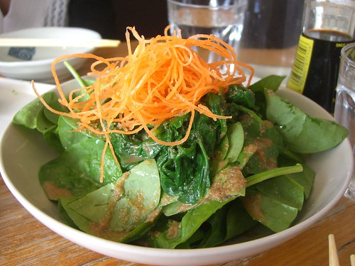 Spinach Salad with Sesame Sauce - Satsuki   by avlxyz