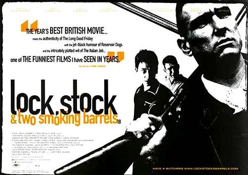 Resultado de imagem para movie poster Lock, Stock And Two Barrels