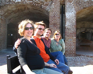 Us at Ft. Sumter | by found_drama