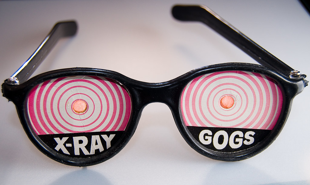 X-ray Gogs | X-ray Gogs  At the center of the eye, you can s… | Flickr