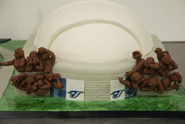 Roger's Centre cake