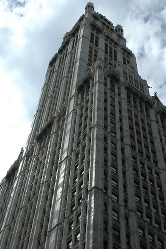 Woolworth Building Tower   by Aaron G Stock