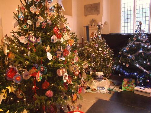 Fakenham Christmas Tree Festival, Norfolk